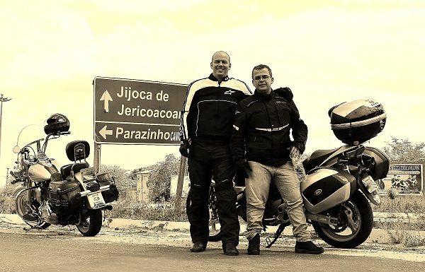 Passando por Jericoacoara e entrando no Ceará contornando pelas fronteiras (foto: Ricardo Carvalho)