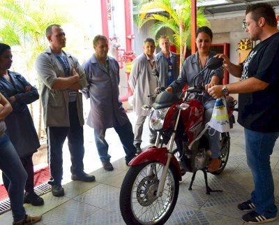 Projeto Moto Segura ensina a usar a moto de forma mais consciente