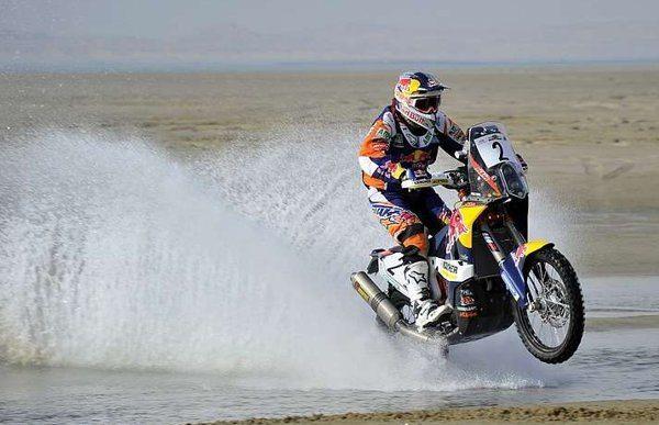 Marc Coma, piloto de Raly KTM