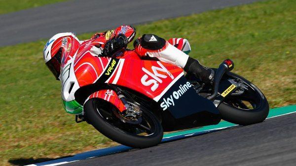 Romano Fenati da SKY Racing Team VR46