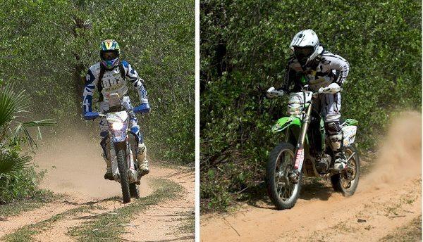 Cascaes e Bombadinho, 2º e 3º lugares no Enduro da Polenta 2014