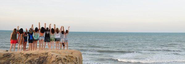 Praia das Fontes, em Beberibe, a uma hora de Fortaleza