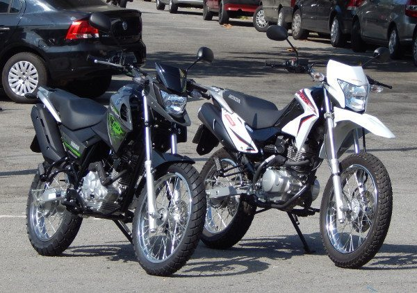 Comparativo Crosser X Bros