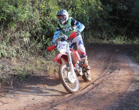 Rodrigo Amaral venceu as dificuldades das trilhas mineiras