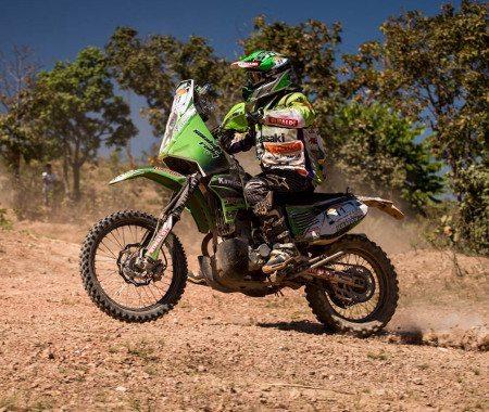 Ramon Sacilotti em ação: domínio completo nas motos
