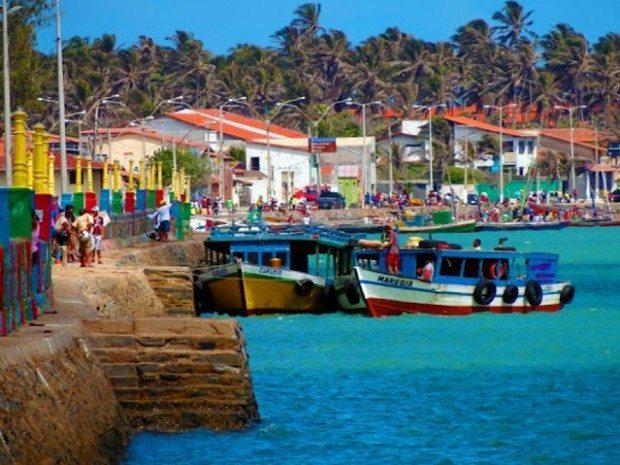 Vista do Porto de Camocim (foto de Rafael Lima)