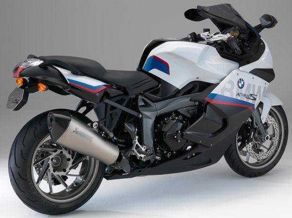 BMW K 1300 S Motosport - Já vem com escape Akrapovik e pedaleiras da HP