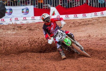 O mineiro Balbi Júnior faturou a MX1 na Copa Minas Gerais de Motocross