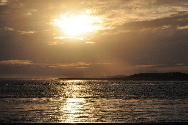 Por do sol em Camocim (foto de Marcelo Lira)
