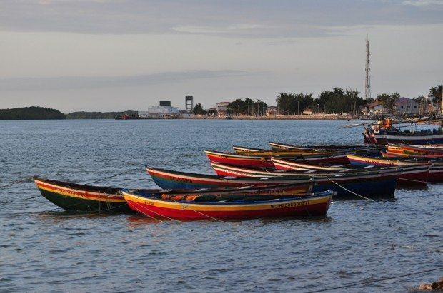 Por-do-sol em Camocim (foto de Marcelo Lira)
