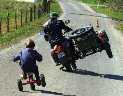 Parabéns a você que é o verdadeiro motociclista!