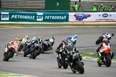 Categoria principal do Moto 1000 GP, a GP 1000 destaca-se pelo grande número de países representados no grid