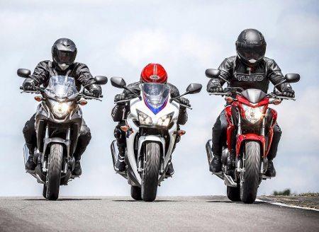 A três integrantes da Família 500 estarão no estande da Honda no Motocapital 2014