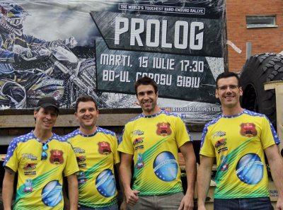 Gaúchos que representarão o Brasil no Redbull Romaniacs 2014