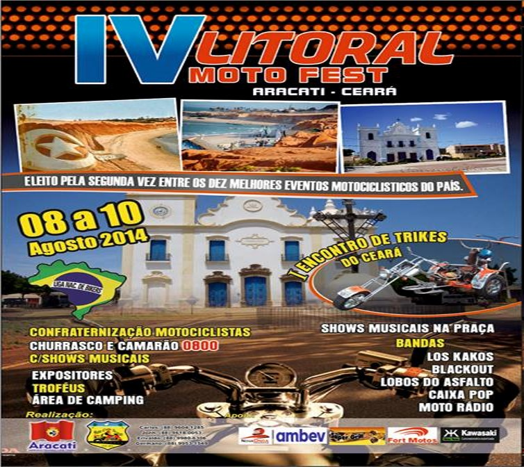 Evento ganha as ruas da bela cidade de Aracati, CE.