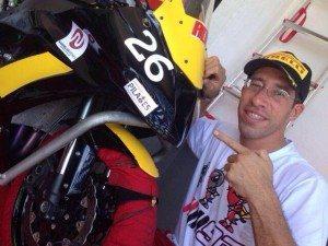 Léo Moraes era uma das novas revelações do motociclismo cearense.