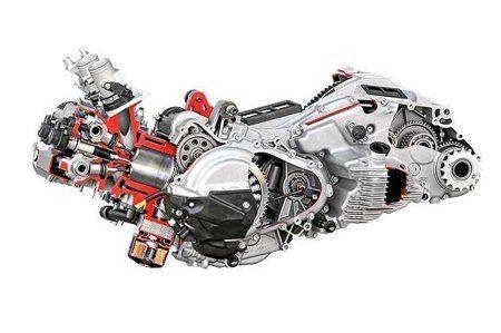 BMW C 600 - O motor na realidade é 649cm3