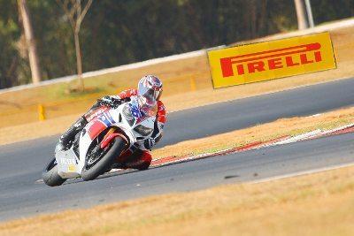 O gaucho Maico Teixeira venceu a etapa de abertura do Goiás MotoGP 2014
