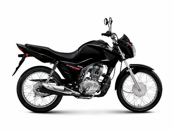 Cor cinza é a novidade da Honda CG 125 versão 2015