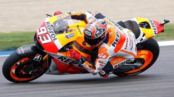Marc Marquez da Repsol Honda Team, intocável