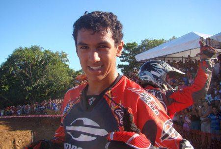 Rodrigo Lama representará o nordeste na etapa goiana do Mundial de MX