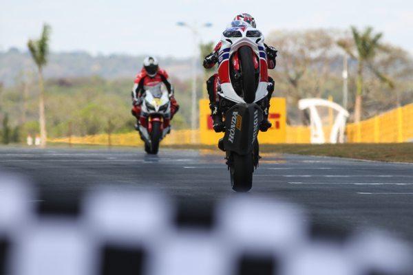Maico Teixeira, piloto da Equipe Honda Mobil de Motovelocidade no SuperBike Series Brasil 2014