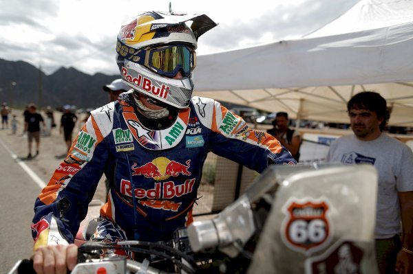 Marc Coma foi o mais rápido na primeira etapa do Sertões 2014