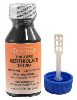 Merthiolate, o terror das crianças de antigamente; ardia muito e não curava