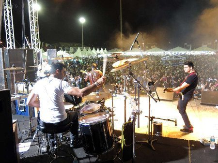 Banda Faixa Etária fará o show principal no dia 23 de agosto (Foto de Fábio Rossi)