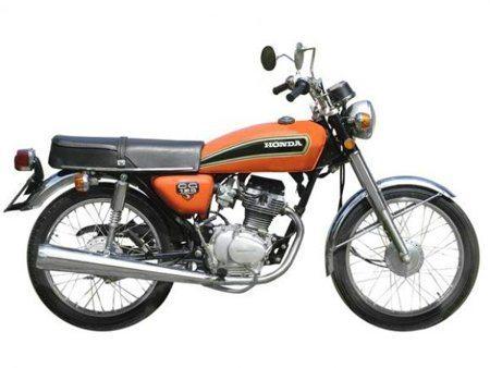 Honda CG - Lançamento de 1976