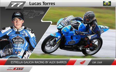 Lucas Torres foi o vencedor da etapa goiana da GPR 250