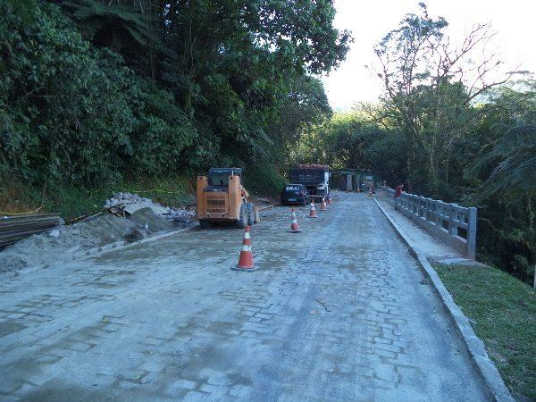 Obras da Estrada da Graciosa, no Paraná, praticamente concluídas