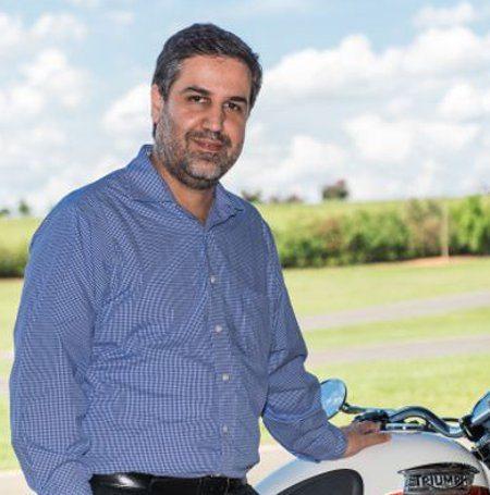 Marcelo Silva  - Gerente geral da Triumph do Brasil, aposta no mercado brasileiro das Big Trail