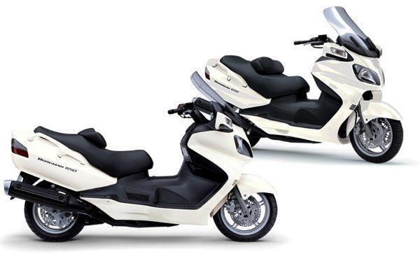 Suzuki Burgman 650, reinando absoluta desde 1996