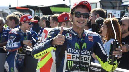 Valentino Rossi fala de assuntos pessoais