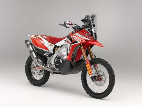 Honda CRF450 Rally, a moto do Team HRC