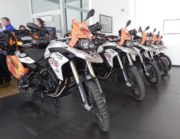 As motos com preparação especial