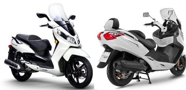 Dafra Citycom 300i e Maxsym 400i: opções menores e mais baratas