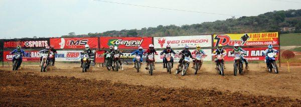 Largada da Nacional até 250cc na Copa Integração de Velocross