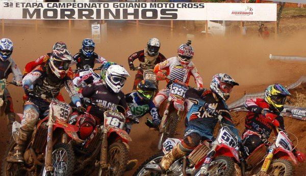 Líderes confirmam favoritismo no Goiano de Motocross em Morrinhos