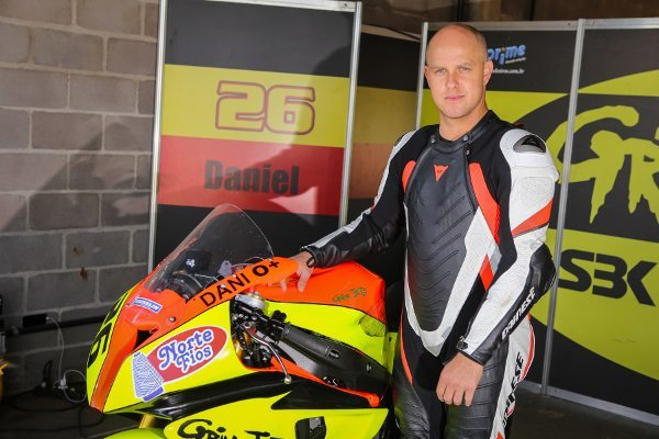 """Daniel Lenzi: """"um dos sorrisos mais alegres do Moto 1000 GP"""""""