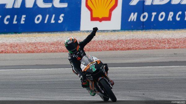 Efren Vázquez vence o GP da Malásia de Moto3™