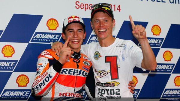Márquez e Rabat, os campeões já definidos da temporada 2014 da MotoGP™