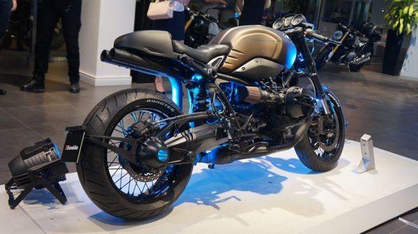 A moto mais radical tem 18 cv a mais do que o modelo original