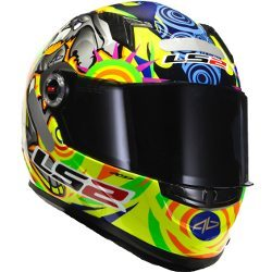 Réplica do capacete de Alex Barros