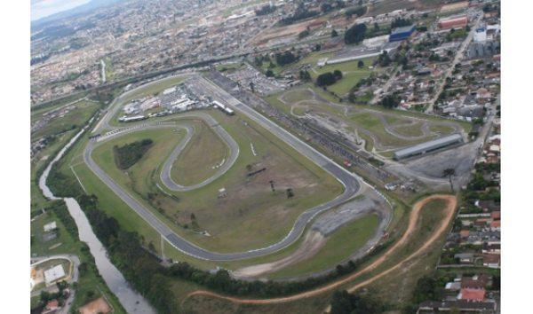 Vista aérea do Autódromo Internacional de Curitiba