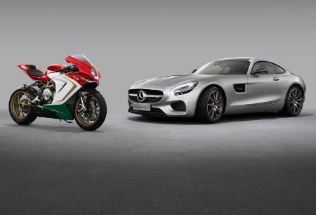 Aliança Mercedes e MV Agusta: capital alemão pode dar folego à italiana