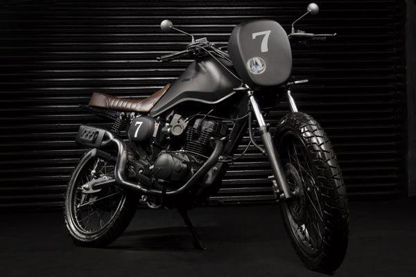 Chimpa TMC Scrambler - Lembra as motos off-road dos anos 60