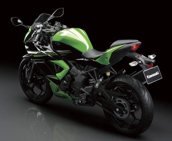 A Kawasaki não esqueceu as pequenas e mostra a nova Ninja 250SL e ...