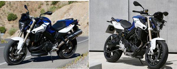 A BMW F 800R recebeu várias pequenas mudanças estéticas